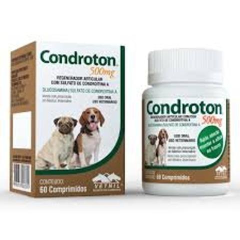 Imagem de CONDROTON  500mg - frasco com 60 comprimidos - Vetnil