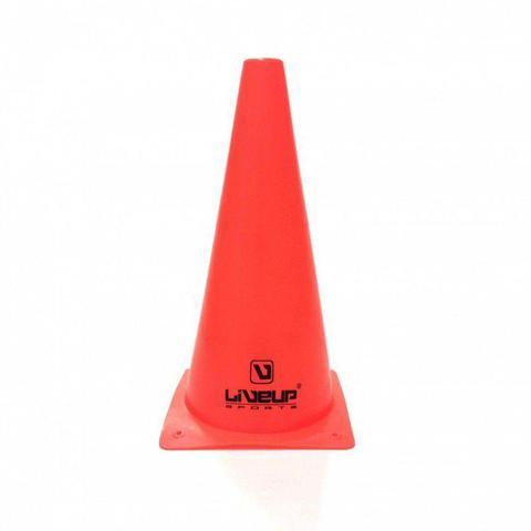 Imagem de Cone de Agilidade Vermelho LiveUp - 28cm