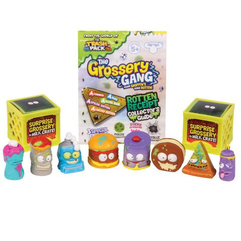 Imagem de Conjunto 10 Mini Figuras - Trash Pack - Grossery Gang - Rot Hot Chili e Stink Cheese - DTC