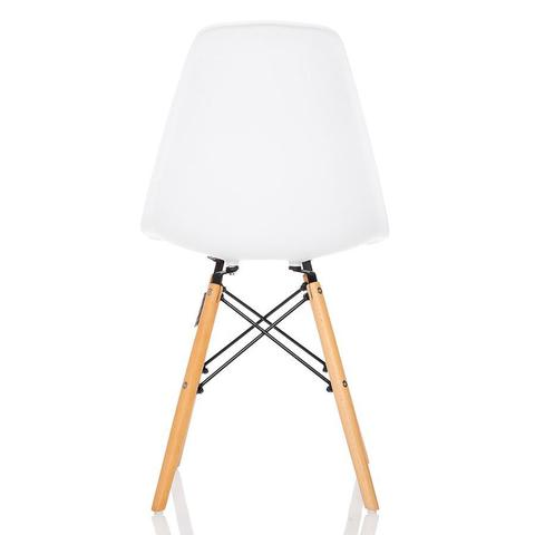 Imagem de Conjunto 2 Cadeiras Charles Eames Branca - KzaBela