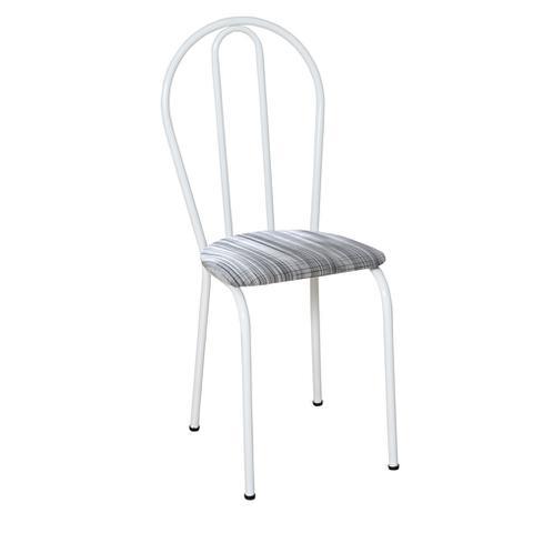 Imagem de Conjunto 4 Cadeiras Branco e Linho