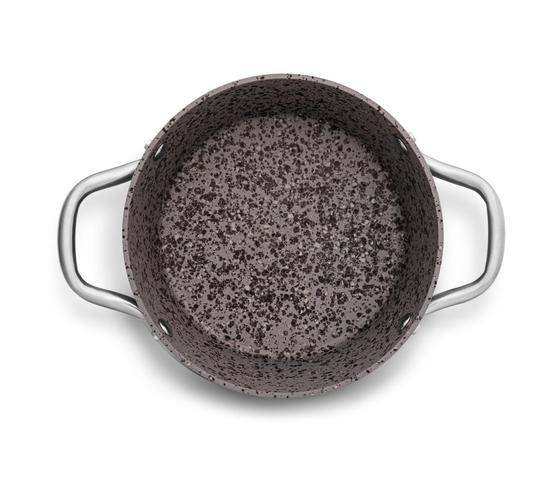 Imagem de Conjunto 4 Peças MTA Granito Stoneflon Antiaderente Profissional Por Indução
