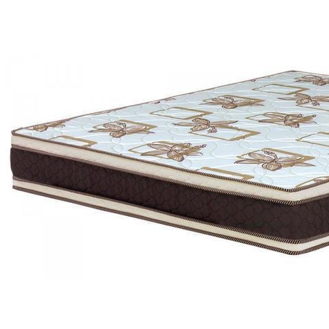 Imagem de Conjunto Box Casal D45 24cmx138cmx188cm Ortopedic Espresso Móveis Bege/Preto