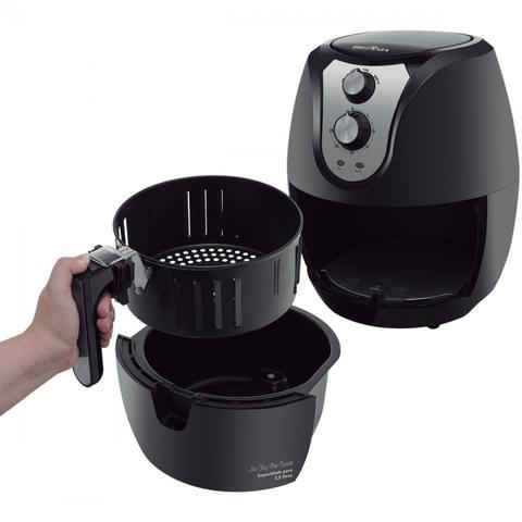 Imagem de Conjunto Cafeteira, Liquidificador e Fritadeira 220V Britânia Preto