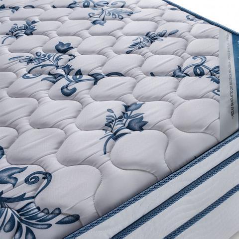 Imagem de Conjunto Cama Box Physical com Colchão Queen Molas Nanolastic Confort (20x158x198) Branco
