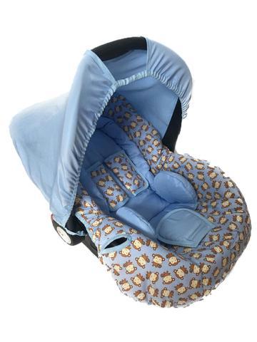 Imagem de Conjunto Capa Para Bebê Conforto Macacos Com Acolchoado Extra