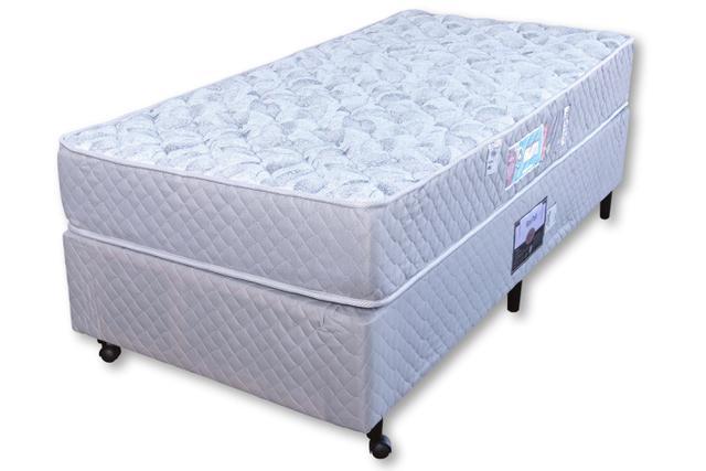 Imagem de Conjunto Castor Sleep Max D33 Solteiro 88x188x18 + Box Castor
