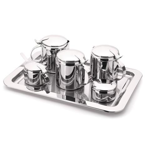 Imagem de Conjunto Chá e Café Tavola Inox 7 peças Forma