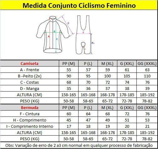 Imagem de Conjunto Ciclismo Mtc Fem Camiseta e Bermuda Gel