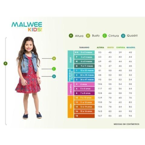 Imagem de Conjunto com saia longa midi infantil - malwee - Malween Kids
