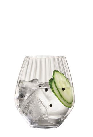 Imagem de Conjunto de 4 Copos Baixos de Cristal para Gin Tônica 625ml Spiegelau