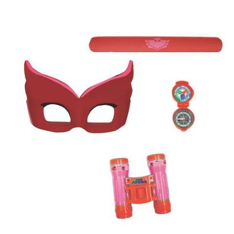 Imagem de Conjunto de Acessórios - PJ Masks - Máscara e Acessórios - Corujita - Candide