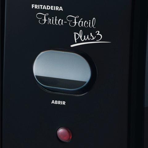 Imagem de Conjunto de Aspirador de Pó, Fritadeira Elétrica e Ventilador 220V MadeiraMadeira 417213 Preto