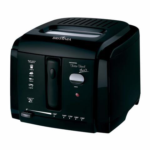 Imagem de Conjunto de Aspirador de Pó, Máquina de Cupcake e Fritadeira Elétrica 127V MadeiraMadeira 416786 Preto
