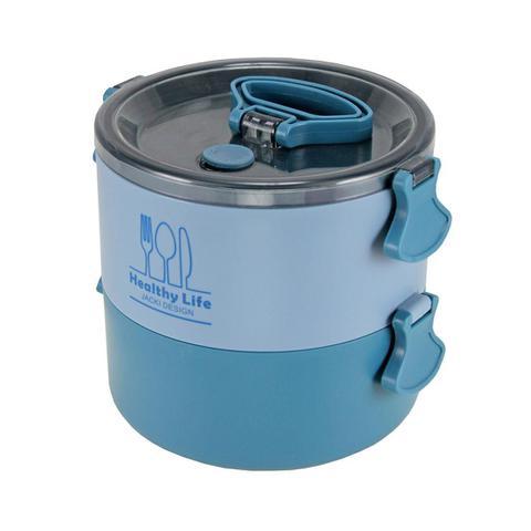 Imagem de Conjunto de Bolsa Termica Com Marmita de 2 andares 1600 ml