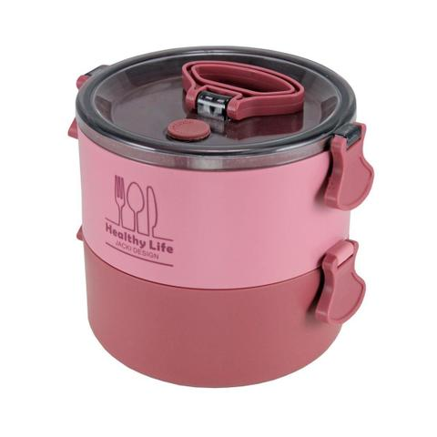 Imagem de Conjunto de Bolsa Termica com Pote Marmita e Porta Escova