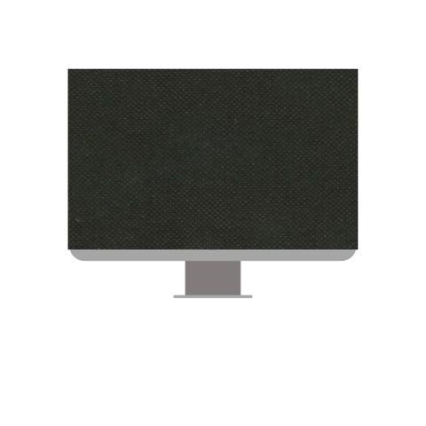 Imagem de Conjunto de Capas para Monitor e teclado na cor preta  19,20 e 21 Polegadas em TNT