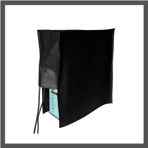 Imagem de Conjunto  de Capas para Proteção do seu Computador:  Gabinete + Teclado + Monitor de  19, 20 ou 21 polegadas em TNT100 Preto