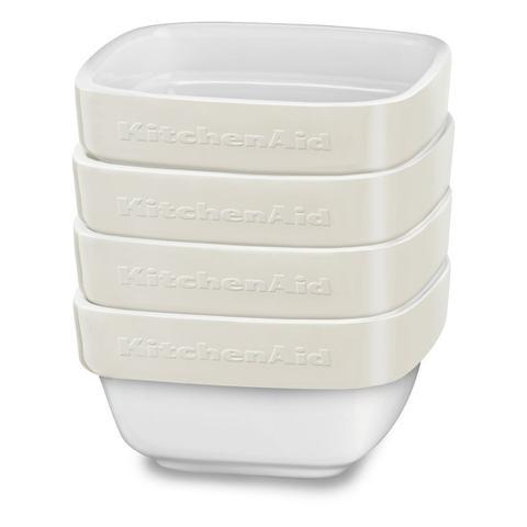 Imagem de Conjunto de Cerâmica Ramekin 4 Peças - Almond Cream