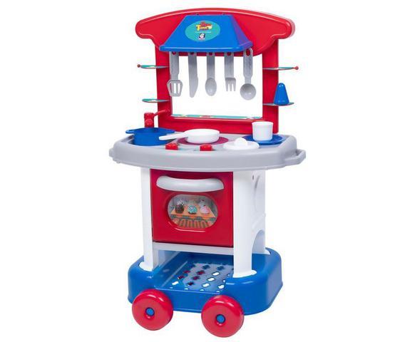 Imagem de Conjunto De Cozinha - Play Time - azul- Cotiplás