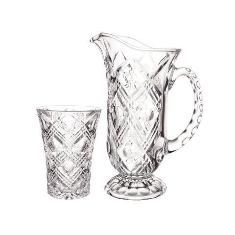 Imagem de Conjunto de jarra com copos Jugs Studio Crystal STC3031