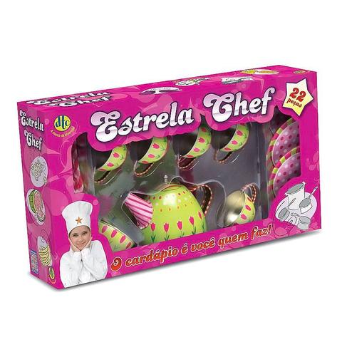 Imagem de Conjunto de Jogo de Chá Verde - Estrela Chef - DTC
