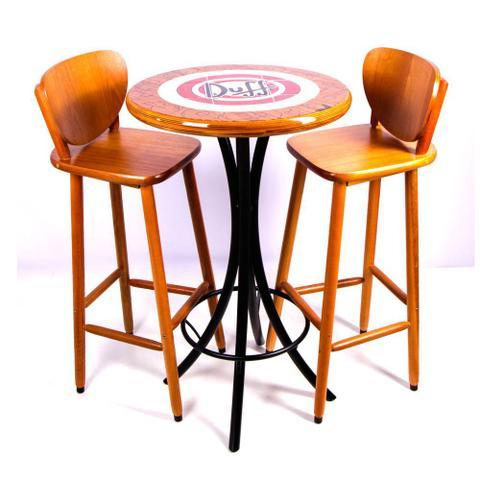 Imagem de Conjunto de mesa bistrô com 2 banquetas azulejo duff - mel