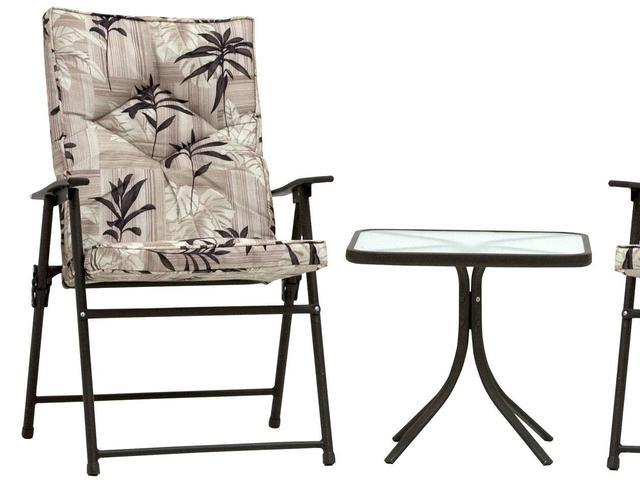Imagem de Conjunto de Mesa com 2 Cadeiras Kairos