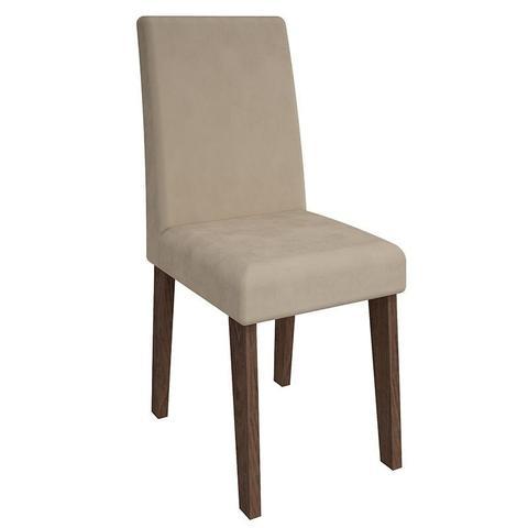 Imagem de Conjunto de Mesa Olivia para Sala de Jantar com 6 Cadeiras Milena-Cimol