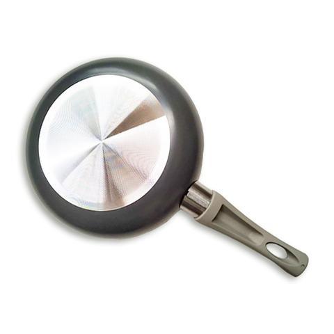 Imagem de Conjunto de Panelas - 5 Peças Revestimento Cerâmico - Cinza
