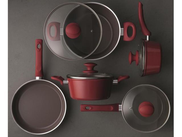 Imagem de Conjunto de Panelas Brinox Ceramic Life Optima