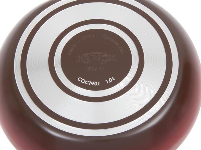 Imagem de Conjunto de Panelas Brinox Ceramic Life Smart