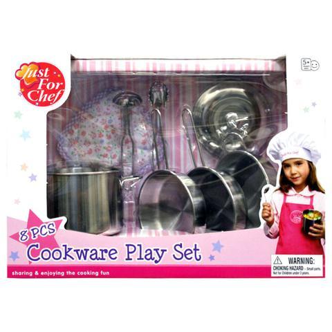 Imagem de Conjunto de Panelas e Acessórios - Cookware Play Set 8pç - Just For Baker