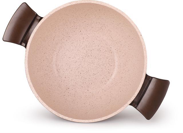 Imagem de Conjunto De Panelas Gourmet MTA Belga Cerâmica Antiaderente 4 Peças Frigideira Wok Caçarola