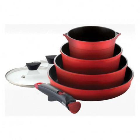 Imagem de Conjunto De Panelas Midas Vermelha - Neoflam