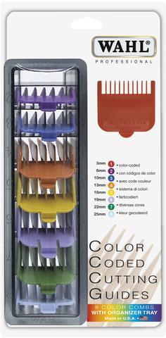Imagem de Conjunto de pentes de altura n.1 a 8 coloridos