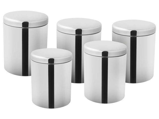 Imagem de Conjunto de Potes 5 Peças Inox