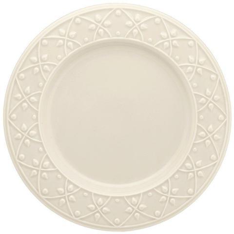Imagem de Conjunto de Pratos Rasos Com 6 Peças 26cm Mendi Marfim - Oxford