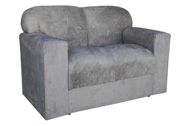Imagem de Conjunto de sofá 2 e 3 Lugares Xaropinho Suede Cinza