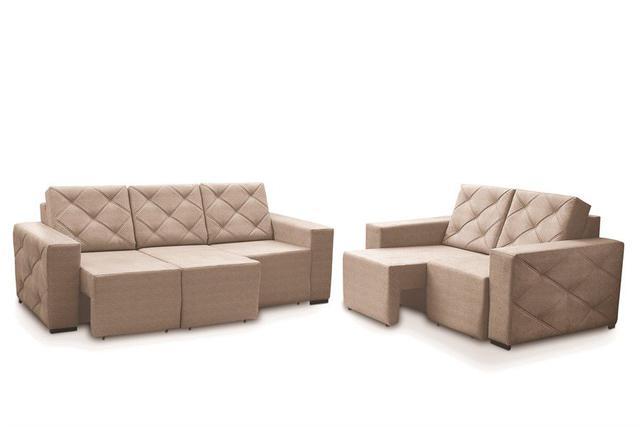 Imagem de Conjunto de sofá viena retrátil 2 e 3 lugares 646