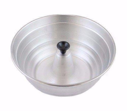 Imagem de Conjunto Forma Pudim, Banho Maria, Cozimento A Vapor Aluminio