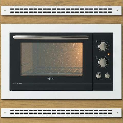 Imagem de Conjunto Forno Elétrico de Embutir 44L e Depurador 60cm 127V Fischer Branco
