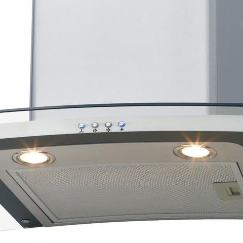 Imagem de Conjunto Forno Elétrico de Embutir 50L e Coifa com Vidro 60cm 220V Fischer Cinza