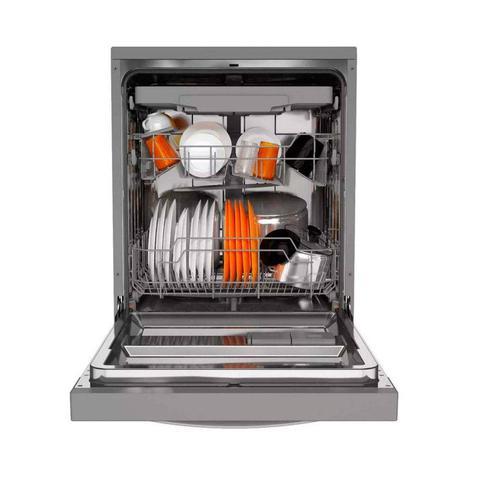 Imagem de Conjunto Geladeira e Lava-Louças 127V Brastemp Inox