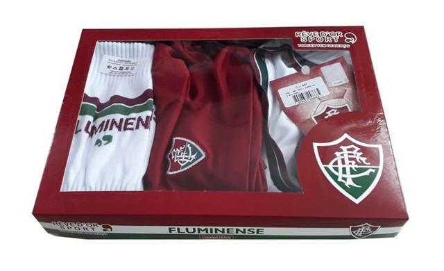 c479507fff891 Conjunto Infantil Fluminense Uniforme Dry Oficial - Revedor ...