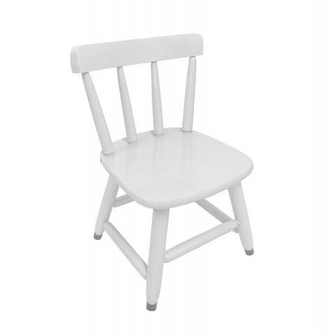 Imagem de Conjunto Infantil Mesa Com 2 Cadeiras Branca Para Criança