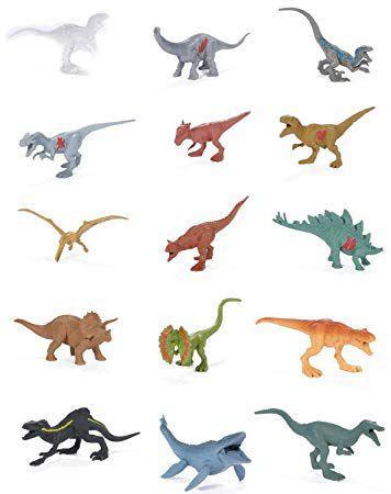 Imagem de Conjunto Jurassic World 2 - Pacote com 15 Mini Dinossauros FPX90 - Mattel