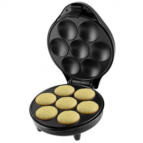 Imagem de Conjunto Máquina de Cupcake, Fritadeira e Batedeira 127V Britânia Preto