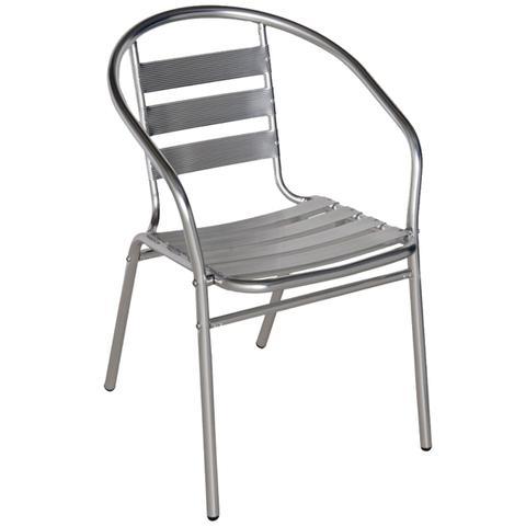 Imagem de Conjunto Mesa com 4 Cadeiras em Alumínio para Jardim - MOR
