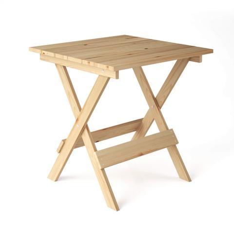 Imagem de Conjunto Mesa Dobrável 4 Cadeiras Siena Móveis Madeira Maciça